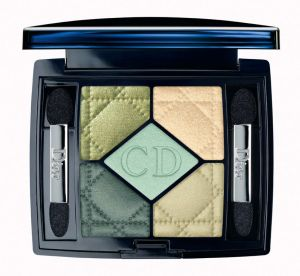 dior make up birds of paradise peacock