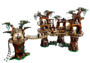 Lego Star Wars village Ewoks